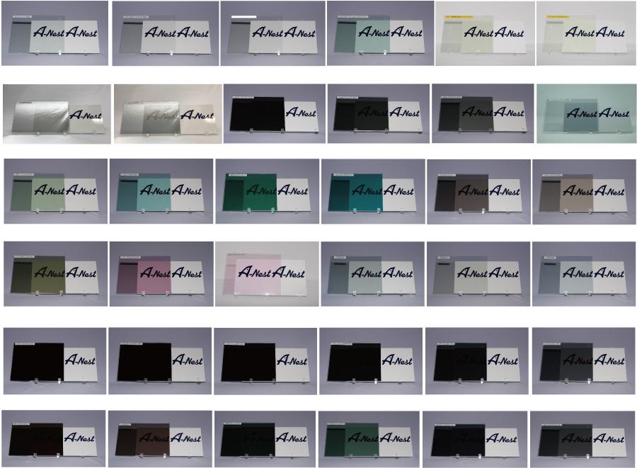 カーフィルム色種類