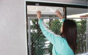 住宅・建物・建築窓用ガラスを自分で貼るDIY